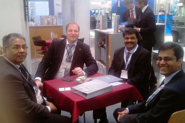 MME meets ARCELOR MITTAL General Manager of CAPEX Procurement Mr. Dwarapu and Management Board Secretary Mr. Dash